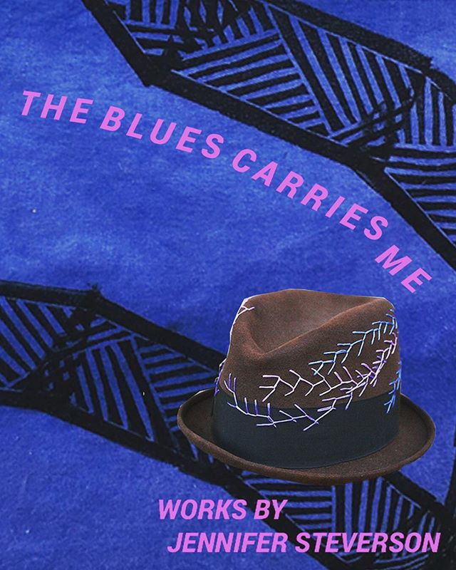 "Join us for HIVE's second Featured Artist Exhibit: The Blues Carries Me.  This show is an exploration of survival through art. The word ""Blues"" referrs to traditional Blues music as well as the various shades created using indigo dye. Jennifer Steverson's practice uses textiles to explore Black Southern culture, family legacies and healing in the African Diaspora. Her work uses Indigo, a plant that is sacred and highly valued in Nigeria and was also cultivated for commercial purposes on plantations in the antebellum Carolina's.  Supported in part by City of Austin Cultural Arts Division @cityofaustinarts"