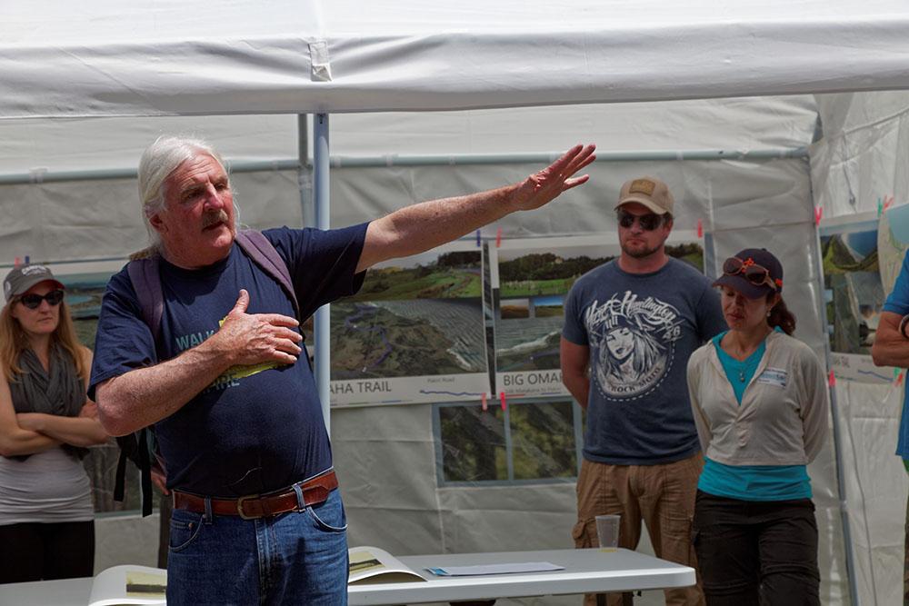 Ian Macdonald talks about the idea of Big Omaha Trail