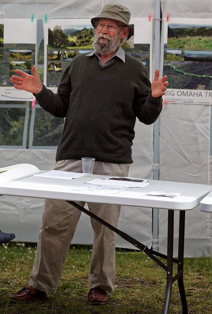 Hugh McKergow talks about the local history