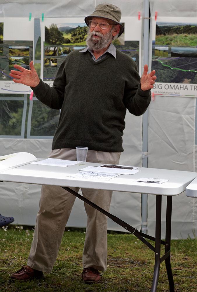Hugh McKergow talks about the local history