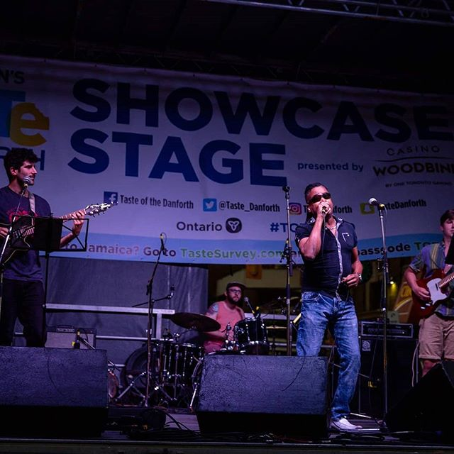 Playing a little shaggy at Taste of the Danforth with @byrequestlive