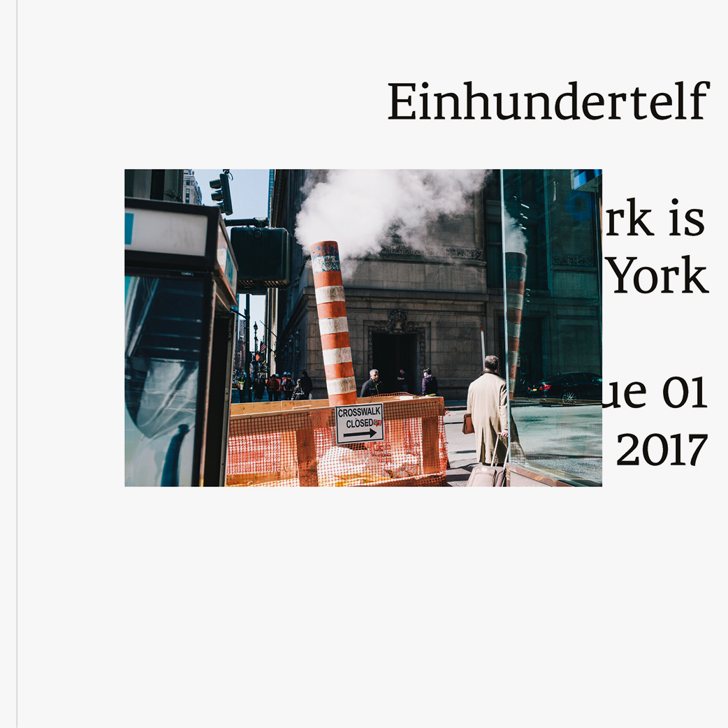 Einhundertelf Magazine Issue 1