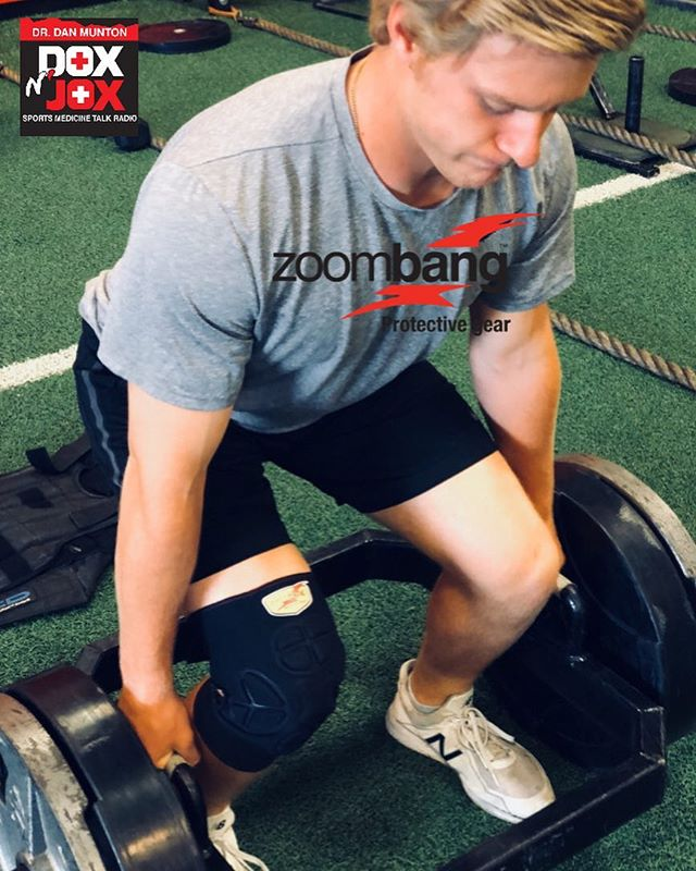 @forgeabilene athlete and Texas State commit Caleb trying out Zoombang Knee Pad! Great comfort, great look, and awesome product! There's not a product that's on the level of Zoombang when it comes to protective gear out there in the market today. If you want to know more about Zoombang then visit Zoombang.com and use PROMO CODE: DOX20 to receive an additional 20% off on all Zoombang products! Protect yourself with the best! . . . #doxnjox #sportsmedicine #askdrdan #podcasts #sportspodcasts #zoombang #protectivegear #forgeathlete #baseball