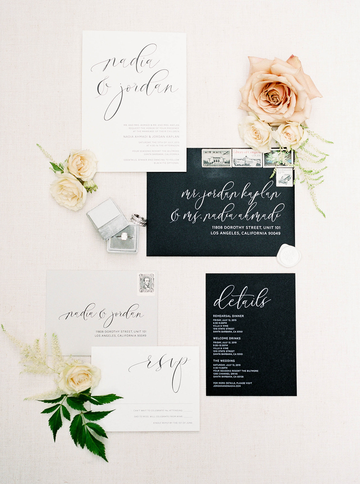 black+white+wedding+invitation+Oak+Orchid+Magnolia+Event+Design+modern+wedding.jpg