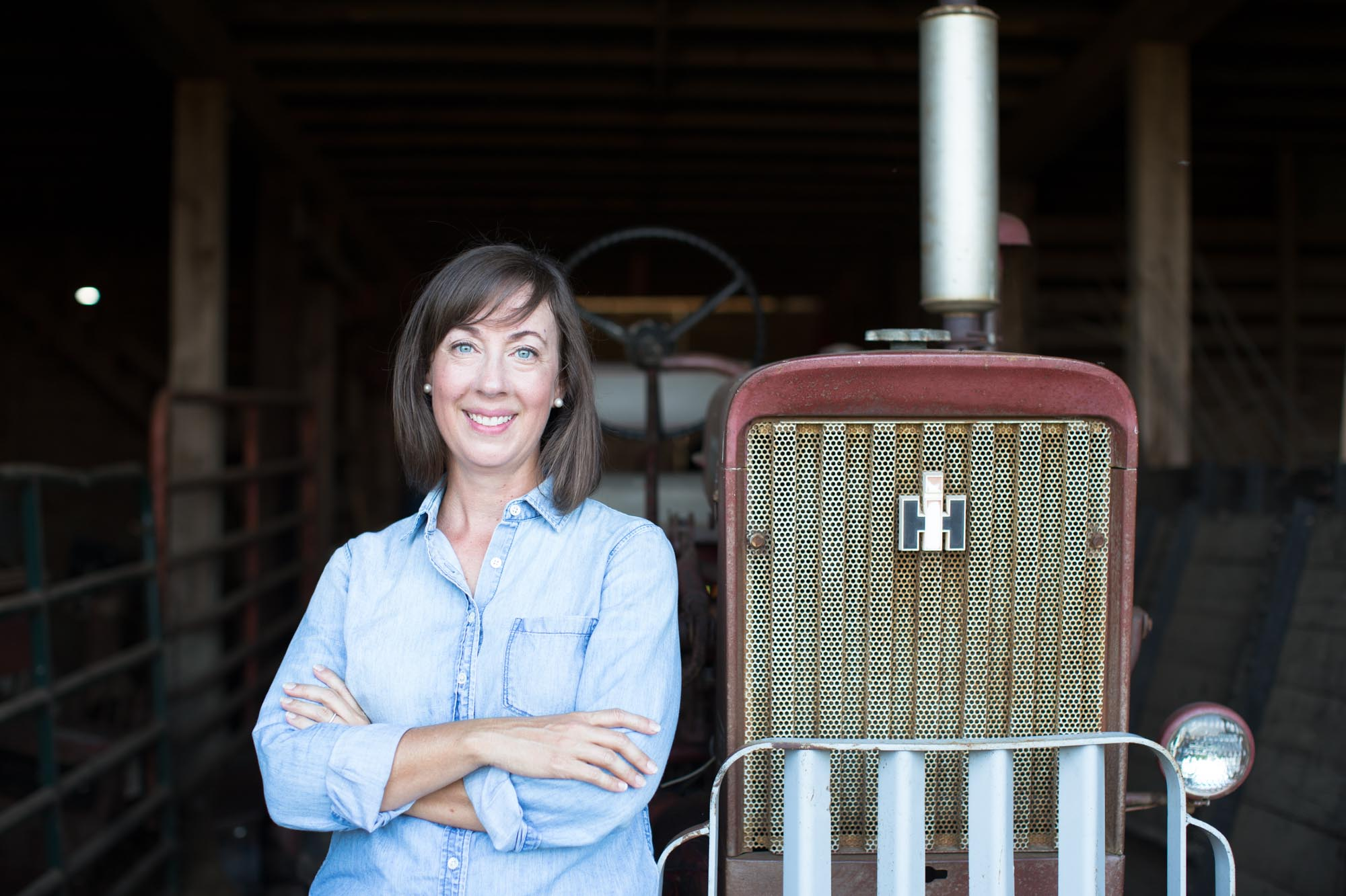 Emily H. Blanton - Founder, Designer and 9th Generation Farmer.