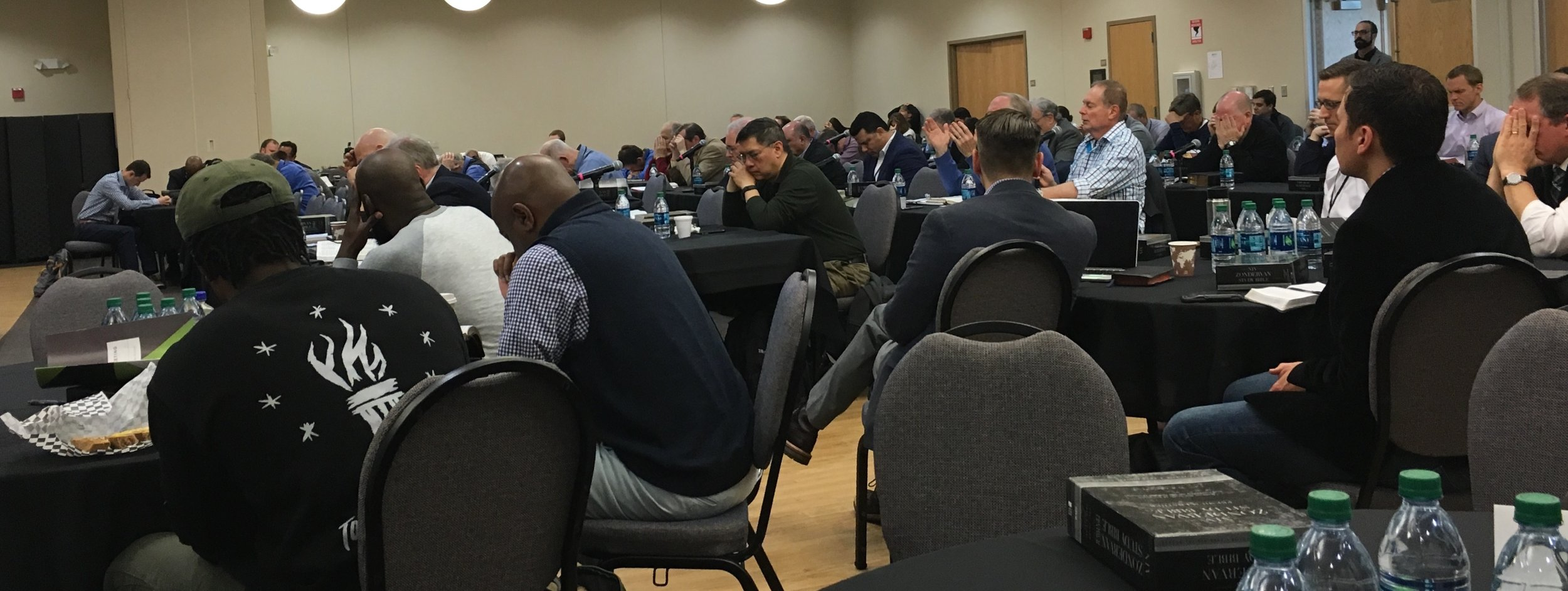 Praying together with the gospel coalition council