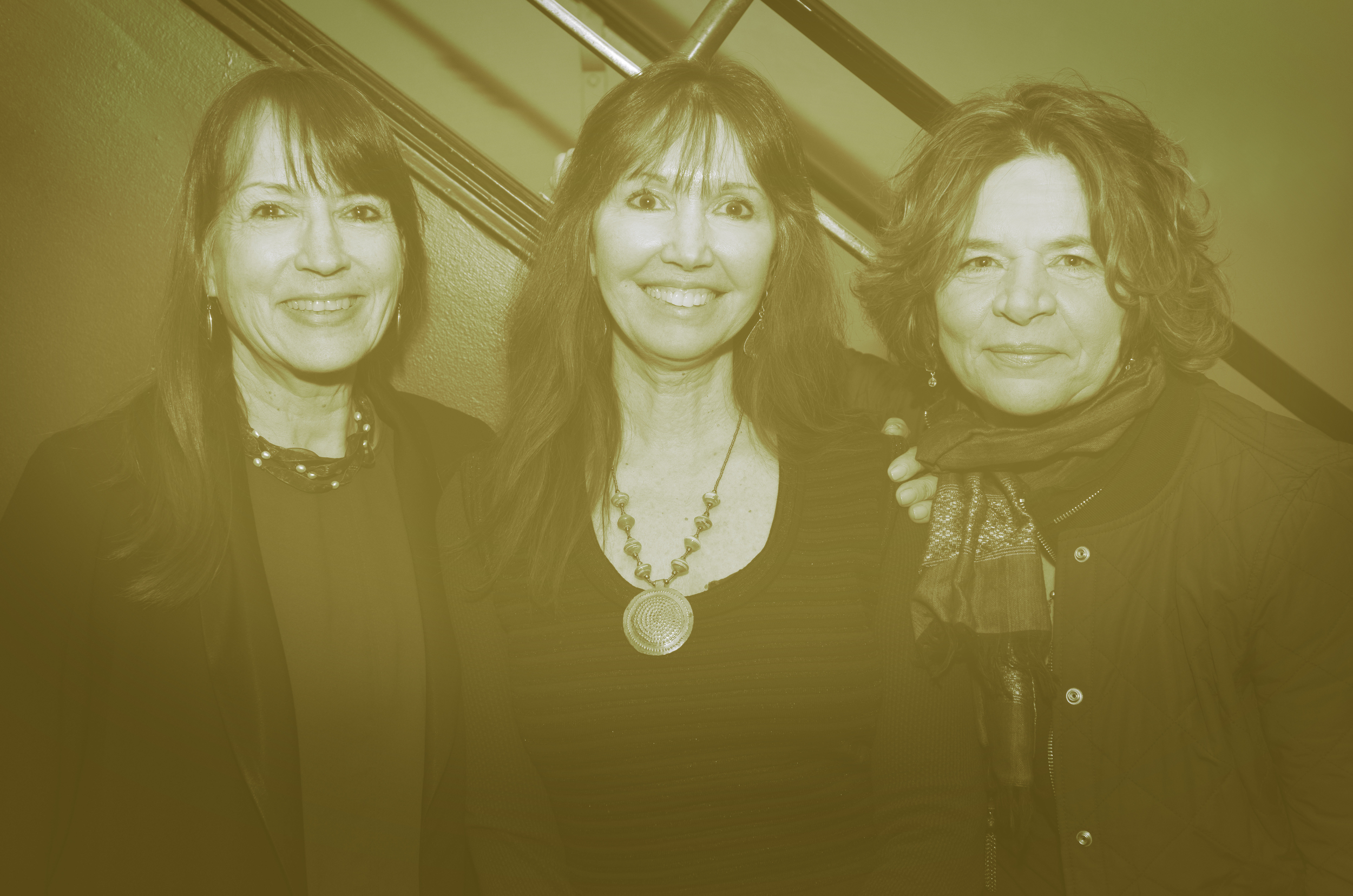 Deborah Parks (Producer), Shelley Saywell (Director/Writer),  Lorraine Segato (Creator/Activist/Songwriter)