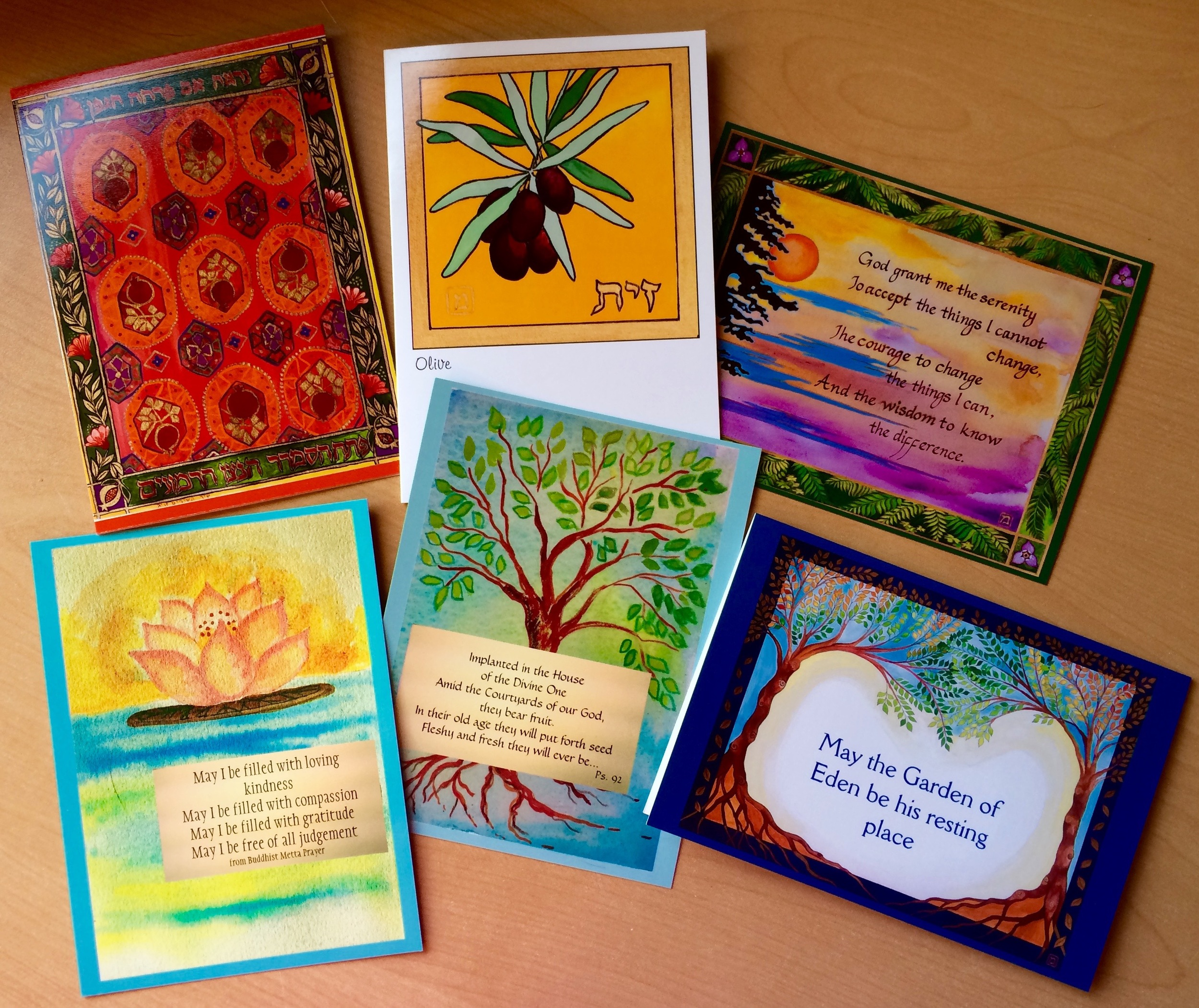 A small selection of cards