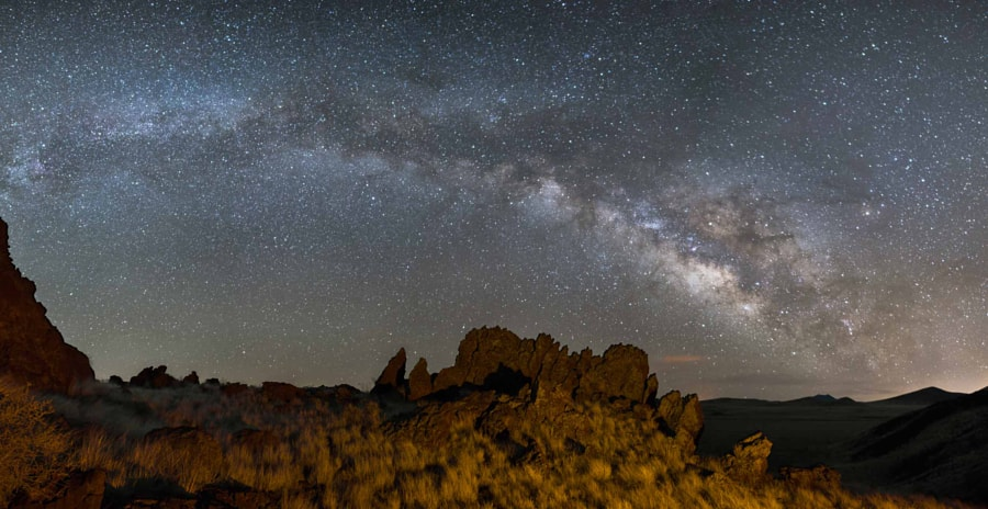 Lava Fields and Stars