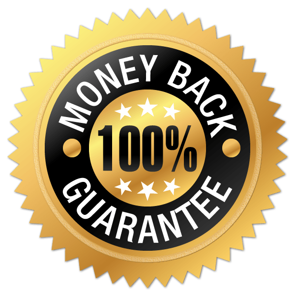 Satisfaction money back guarantee! - Participants have 14 days to claim their refund and must show completion of exercises and provide feedback on what can be improved about the course.