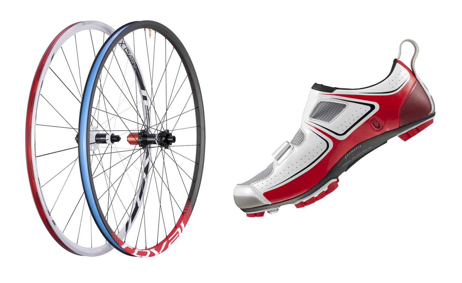 Specialized Wheels and Shoe