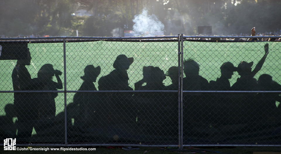 The crowd at Hardly Strictly Bluegrass Festival