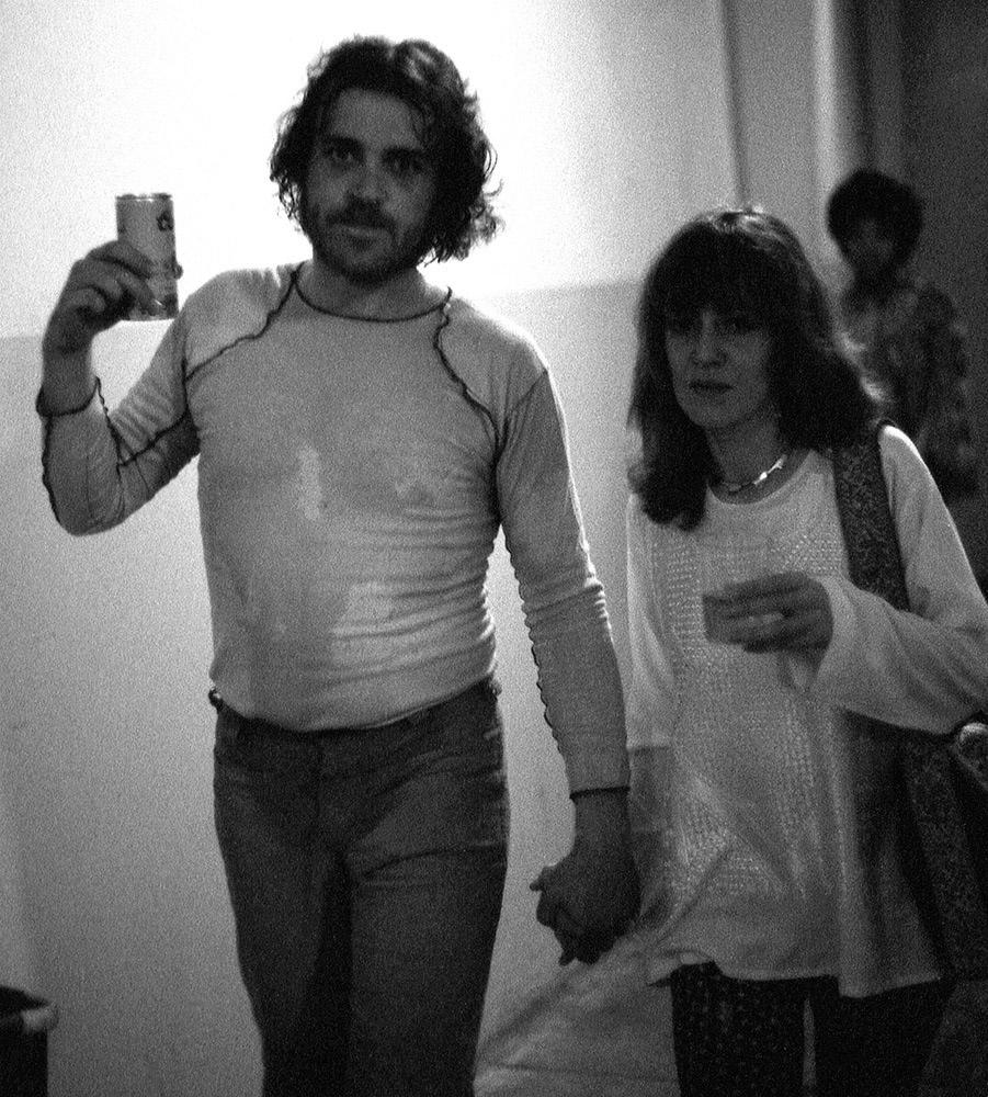 Joe Cocker backstage 1972