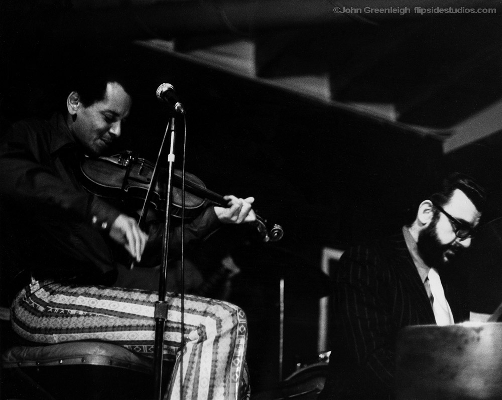Sugarcane Harris and Johnny Otis at the Ash Grove