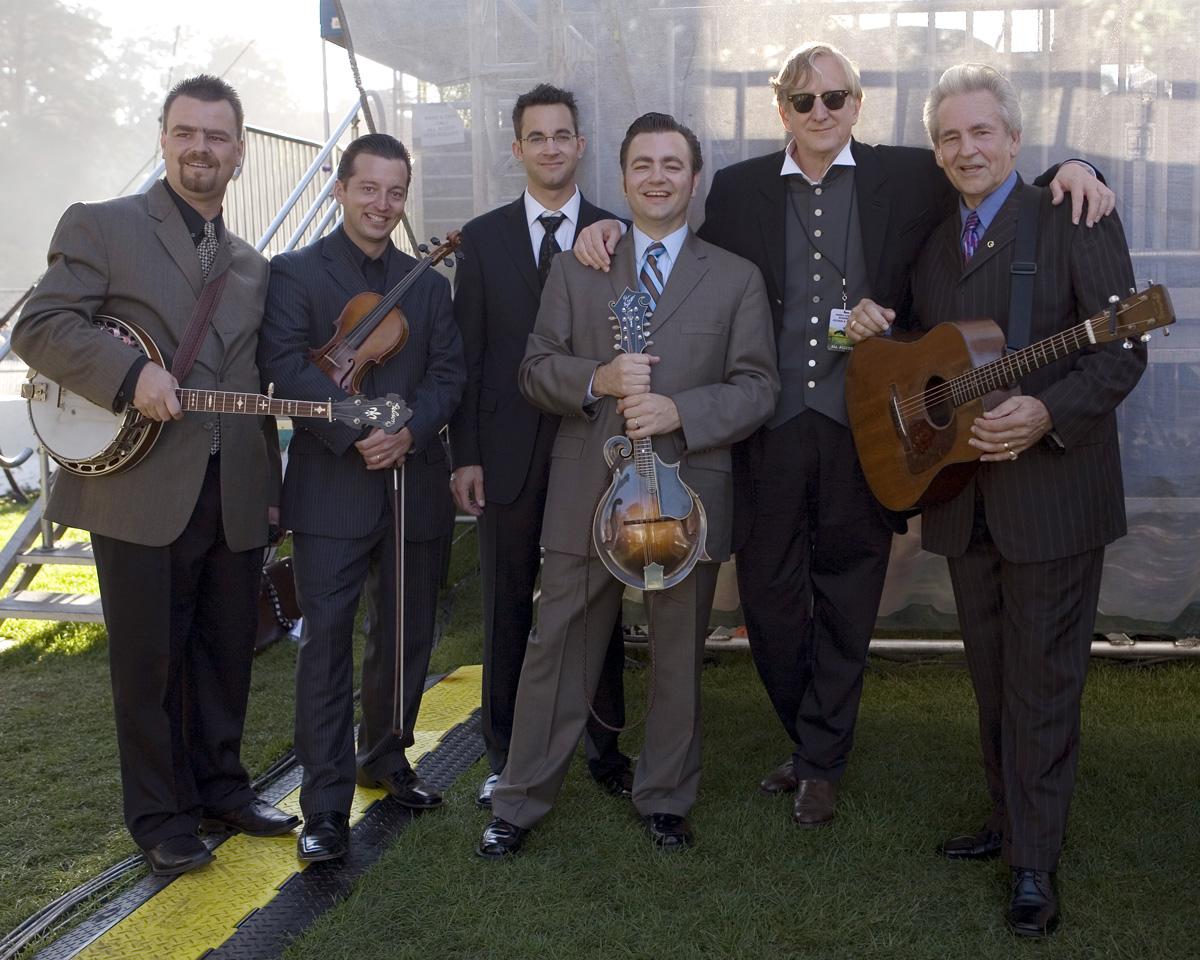 T-Bone Burnett, Del Mccoury and band, Hardly Strictly Bluegrass Festival