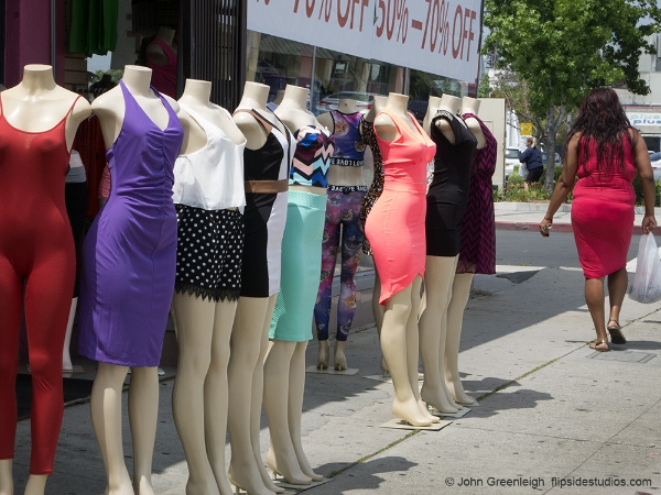 Mannequins on Pico Blvd, LA