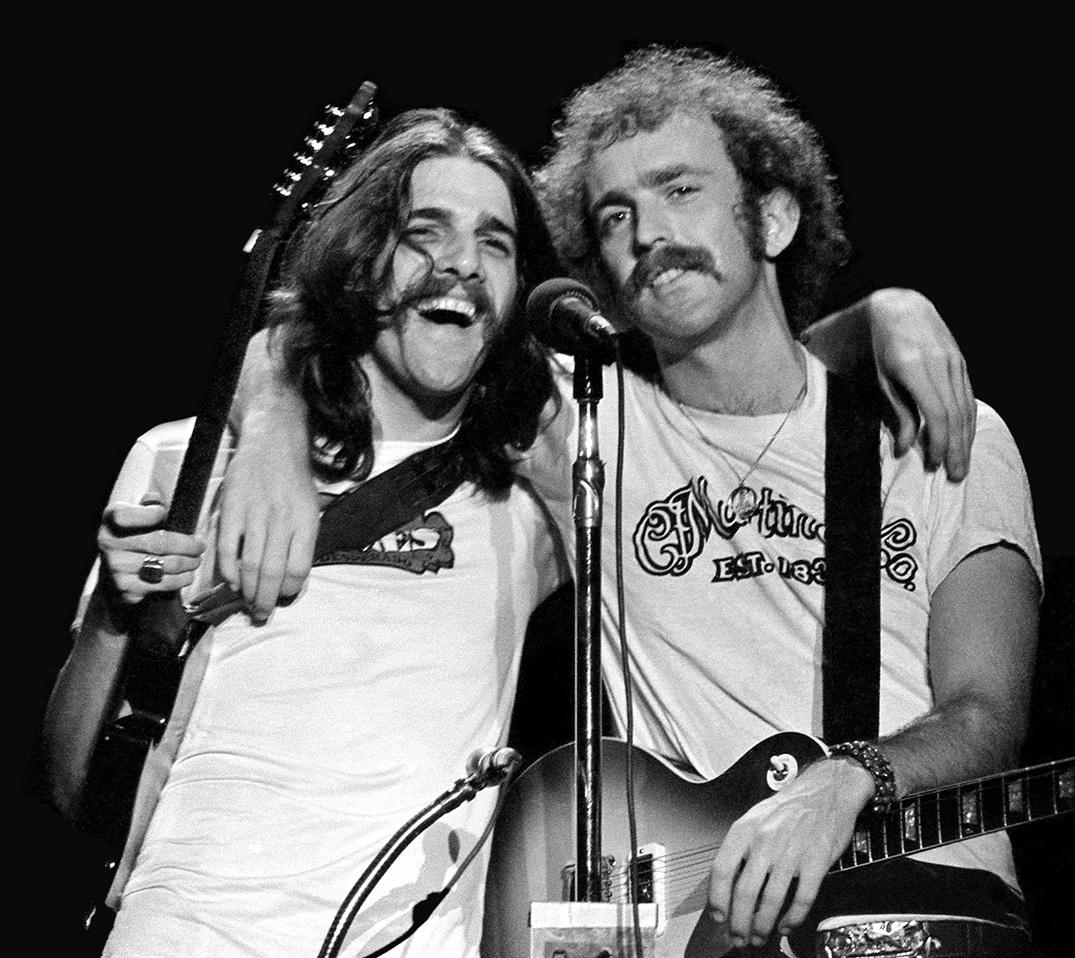 Glen Frey & Bernie Leadon, Santa Monica Civic 1973