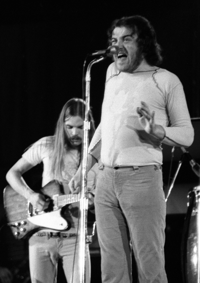 Joe Cocker & Don Preston, Long Beach Arena 1972