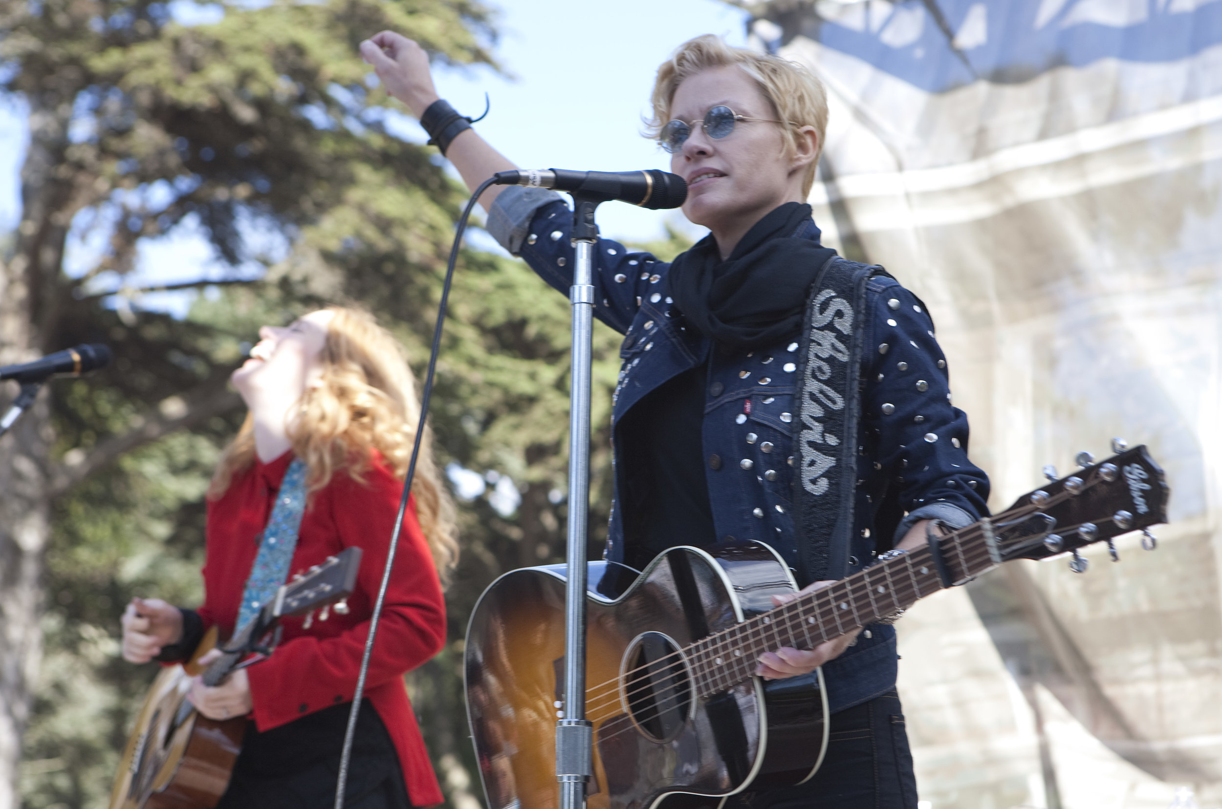 Shelby Lynne & Allison Moorer, San Francisco 2010