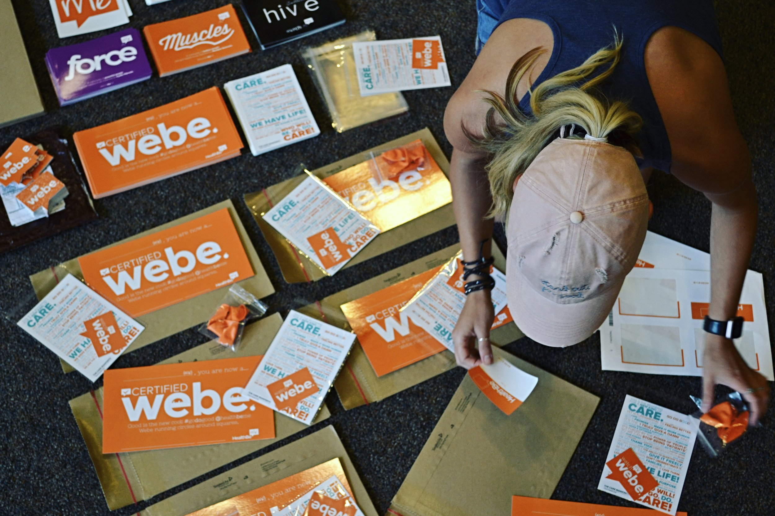 #webe - sign up for your webe welcome pack - no forms, no fuss, just a way to brighten your day for connecting care to health with us @HealthBeMe