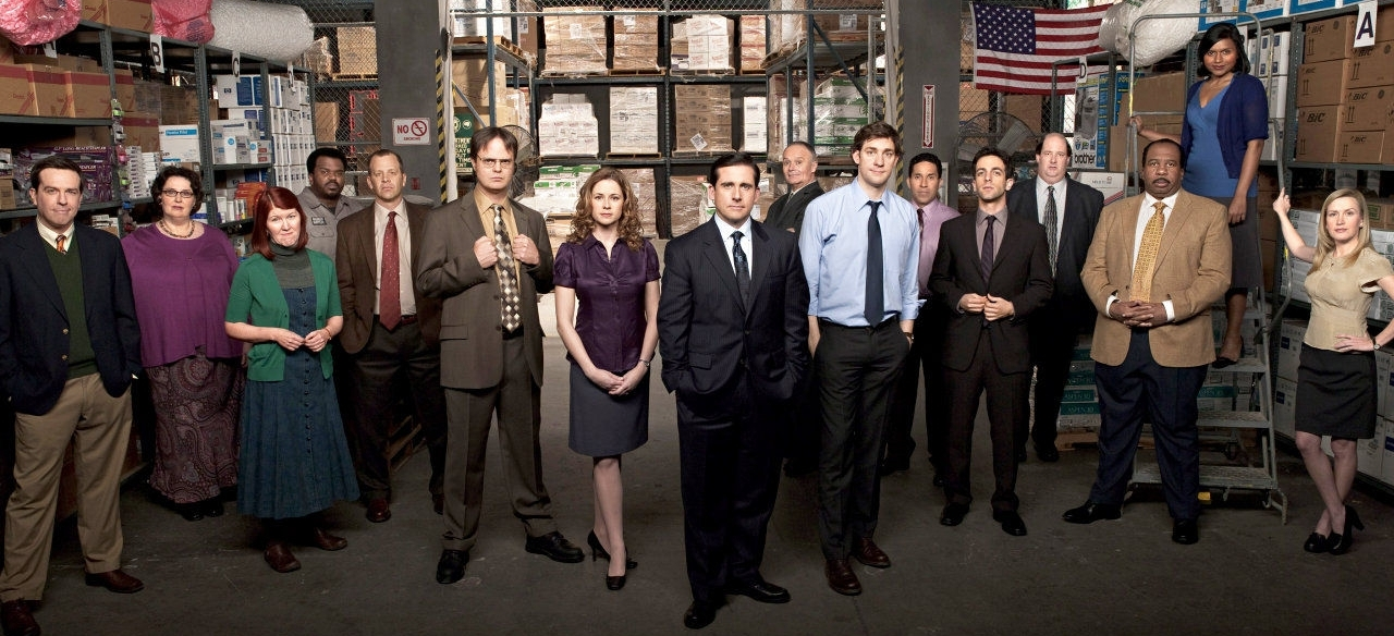 the office -