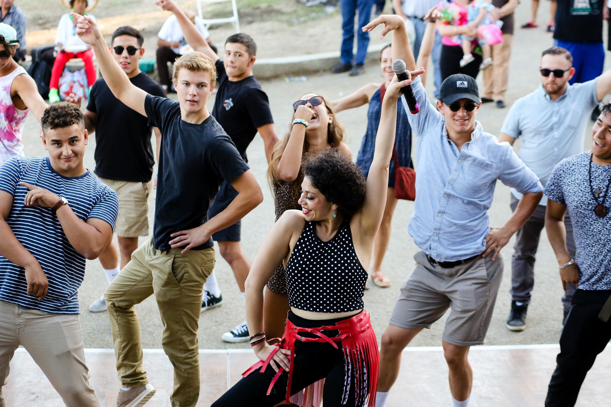 Dance Instructor, Independencia Day Tardeada, MacArthur Park, L.A