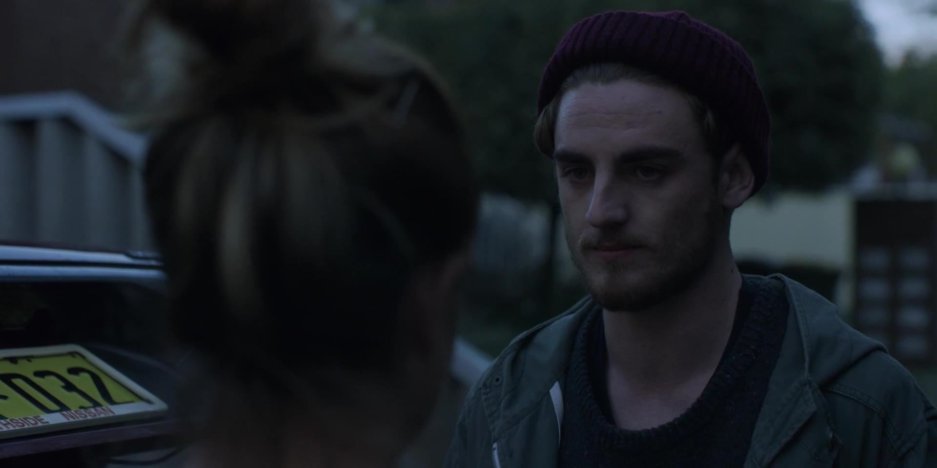 """Luke Morgan as """"Elliott"""""""