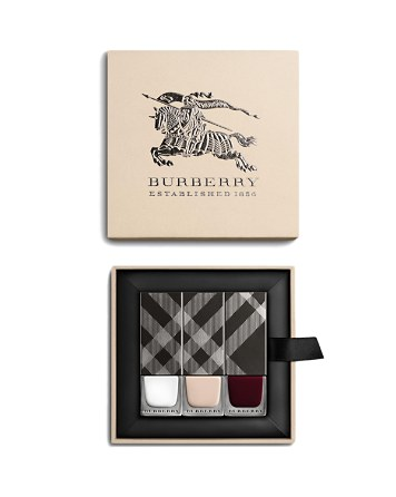 Burberry, Spring/Summer 2016 Nail Polish Collection, $66 via bloomingdales.com