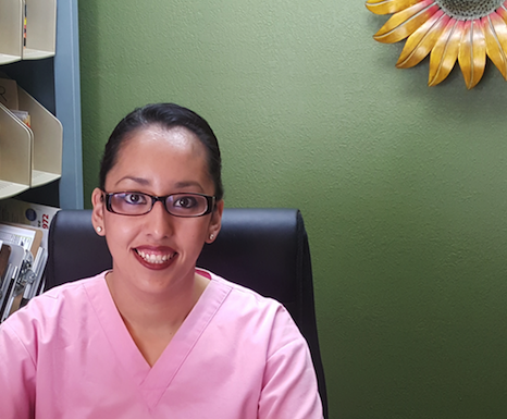"""Wendy gonzalez   """"Wendy is a mother of three and a native of Escondido who has been working at our office since April 2005...""""    →"""