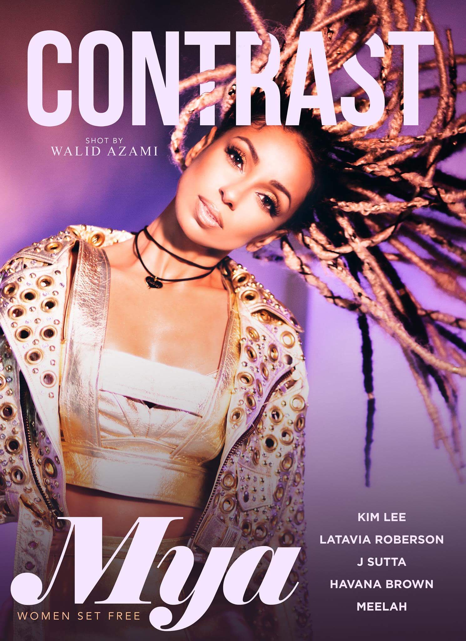 Mya for Contrast Magazine