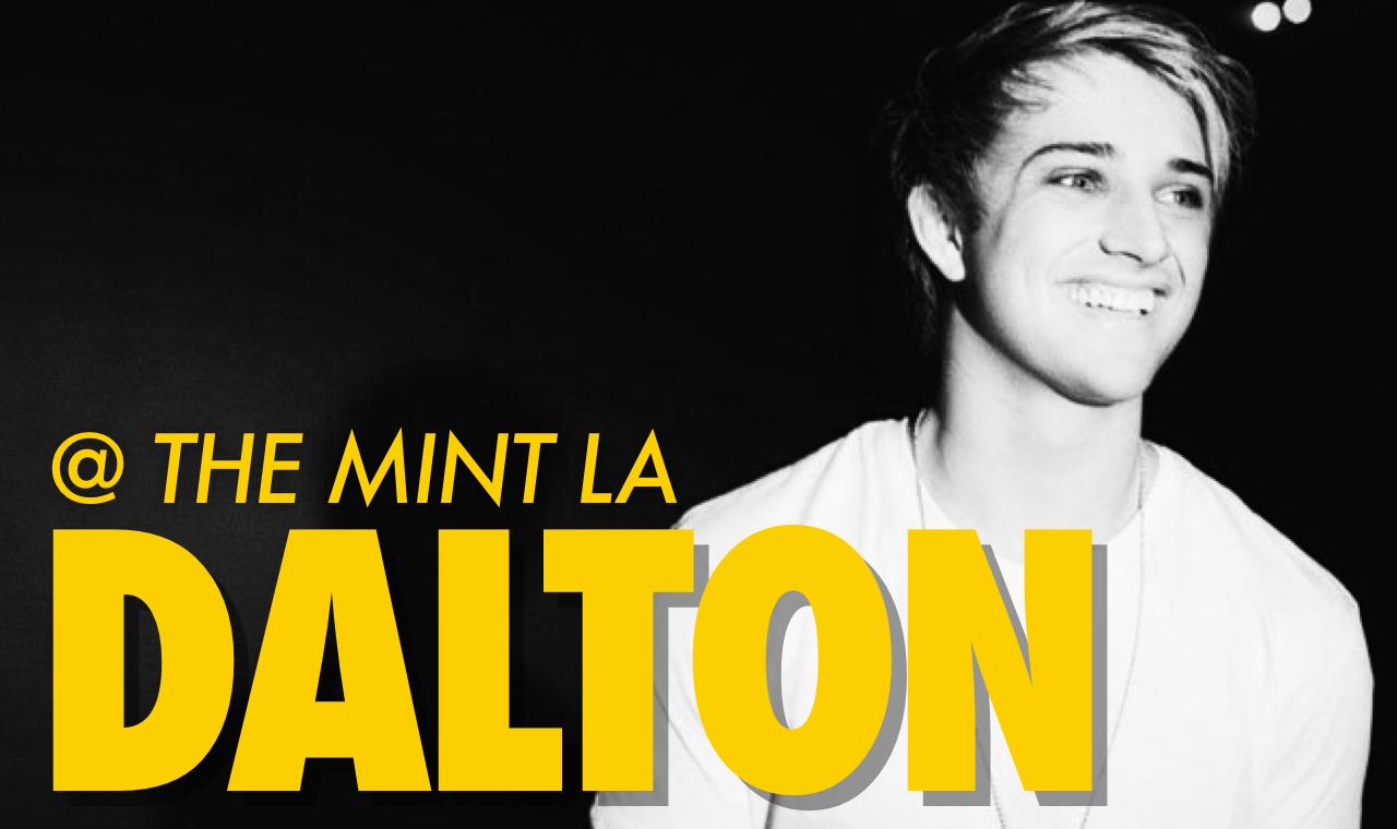 Dalton Rapattoni performed at the Mint LA