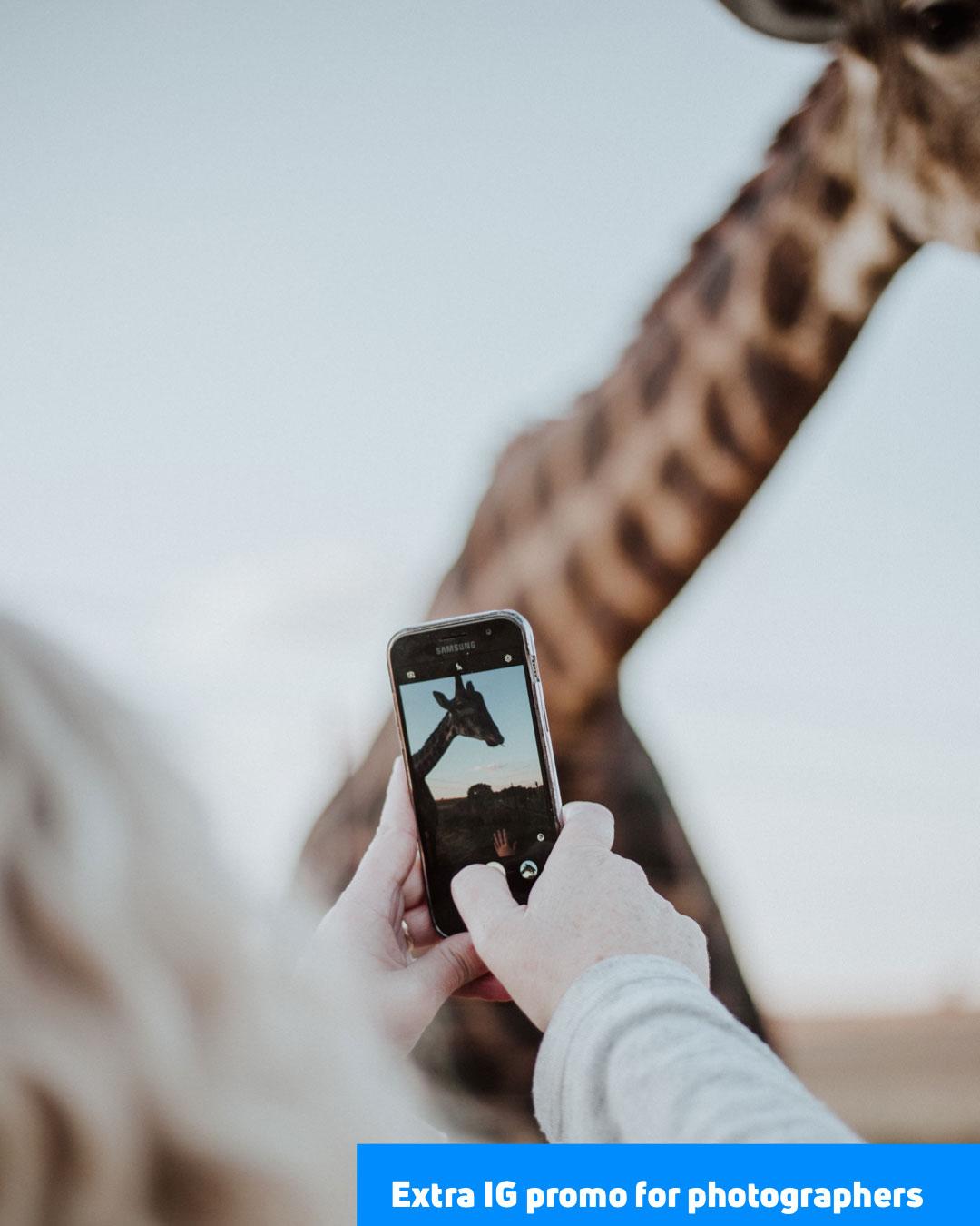Instagram promo tips for photographers