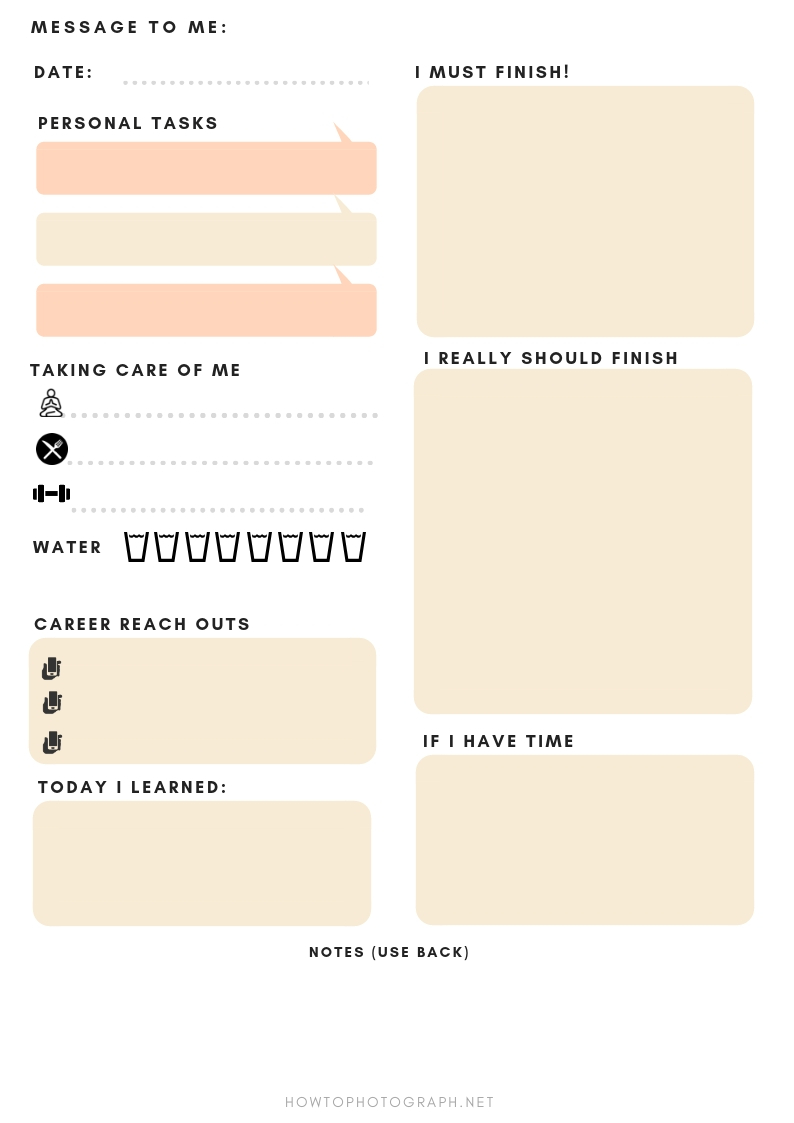 USE THE SAME DAILY PLANNER THAT I'VE USED FOR YEARS AND BOOST YOUR PRODUCTIVITY (MAKE MORE MONEY) -