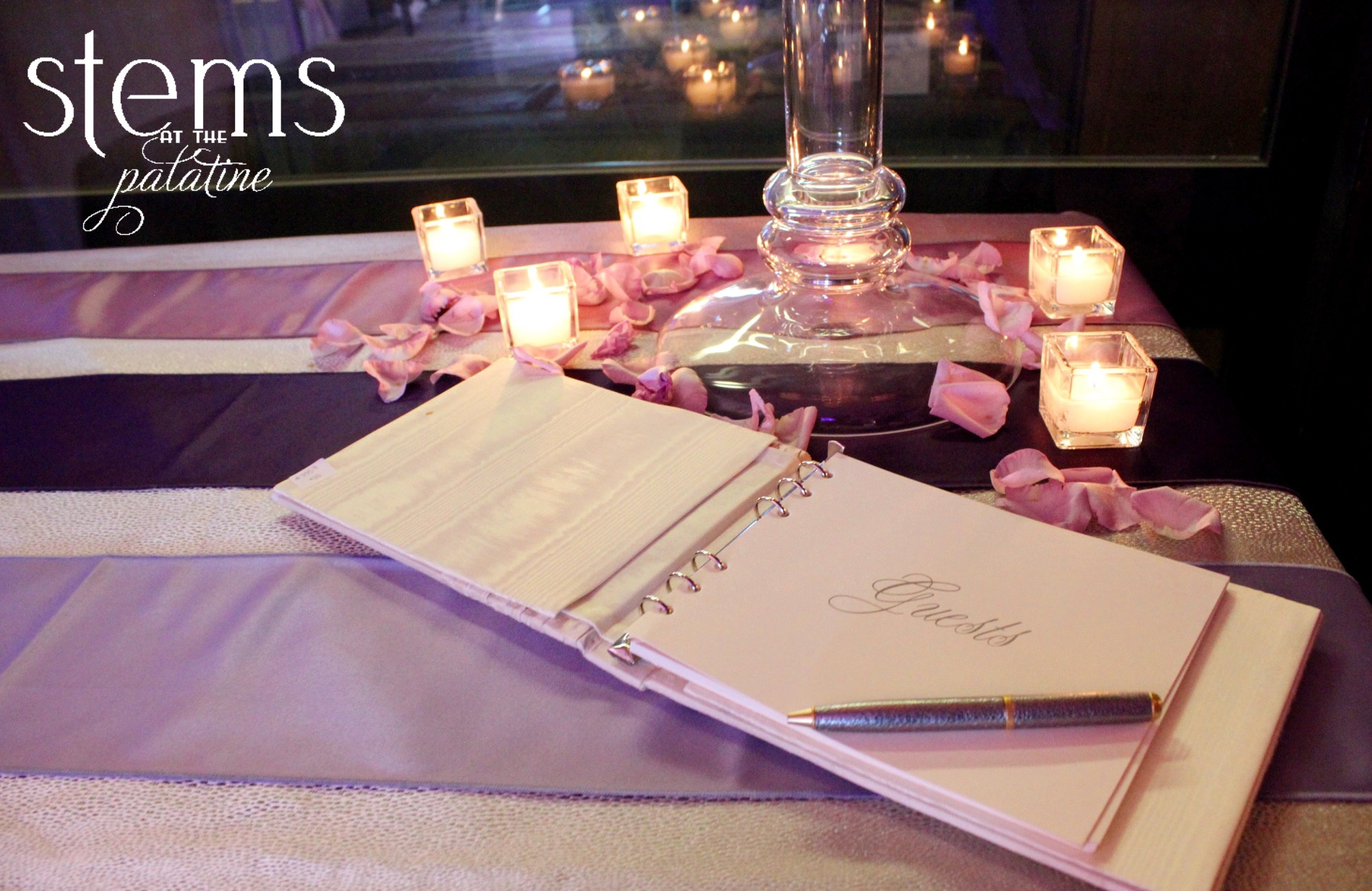Guest book by RSVP Style