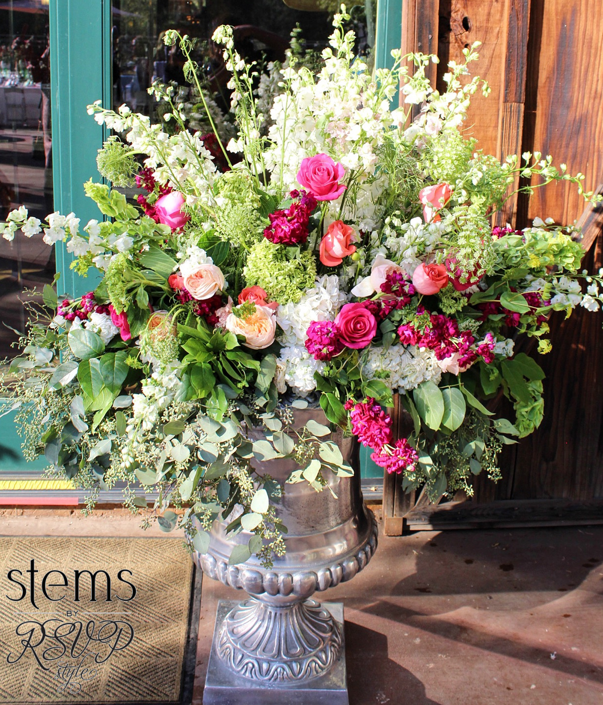 Urns with Floral