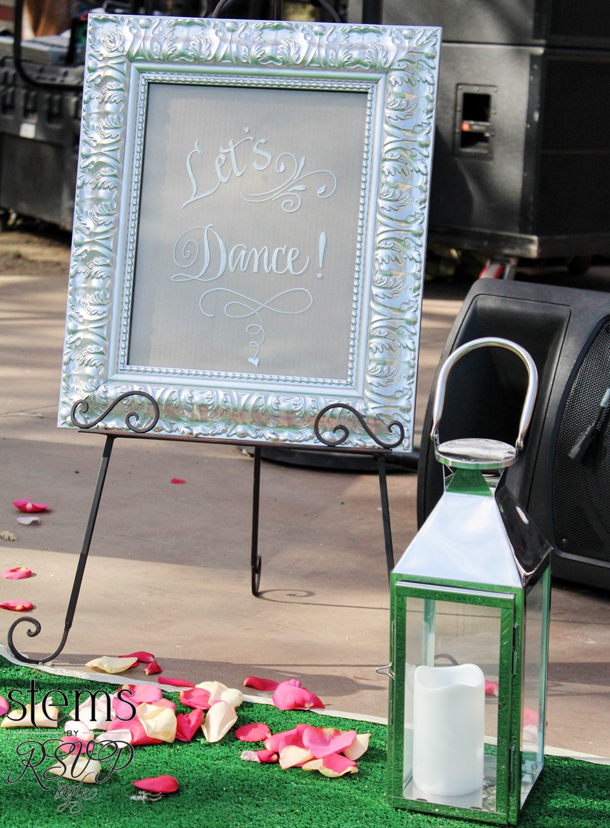 Custom DIY Dance Floor Sign