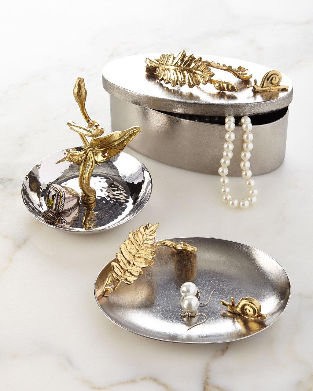 Oval Trinket Jewelry Tray
