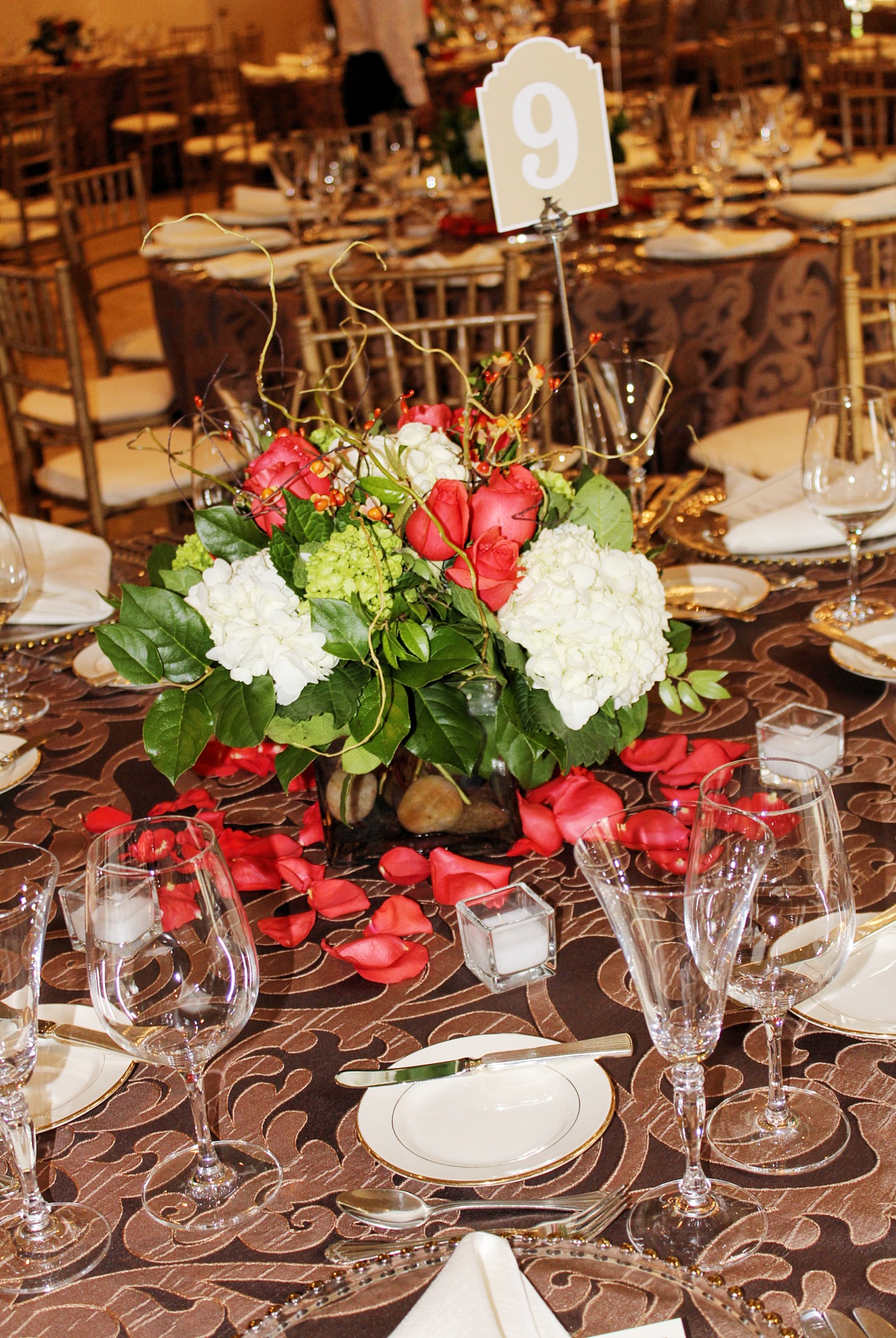 Centerpiece & Table Numbers