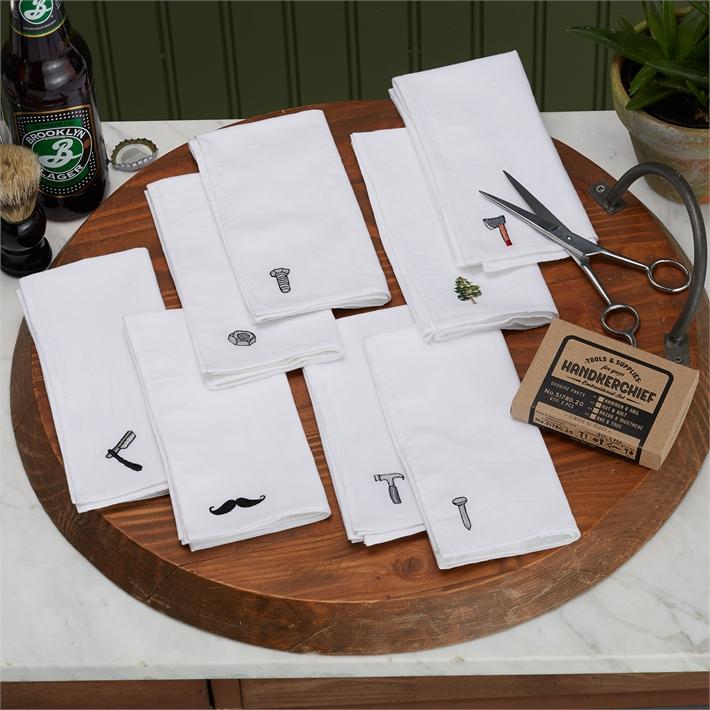 Handkerchief Embroidered Set