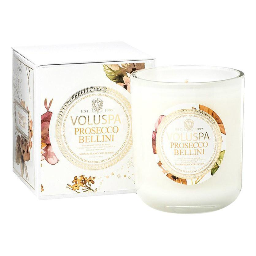 Voluspa Maison Blanc Candle Prosecco Bellini