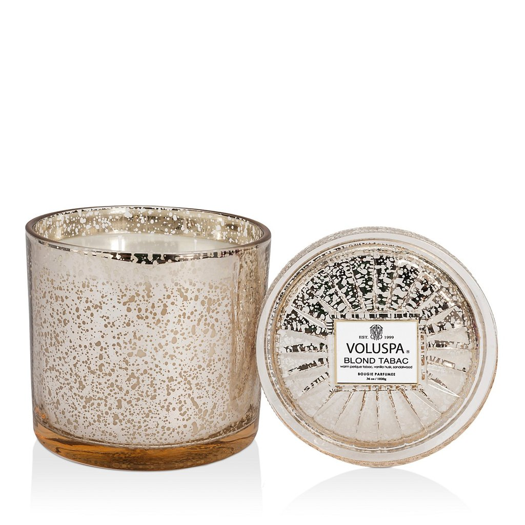 Blond Tabac Grande Maison Candle With Lid