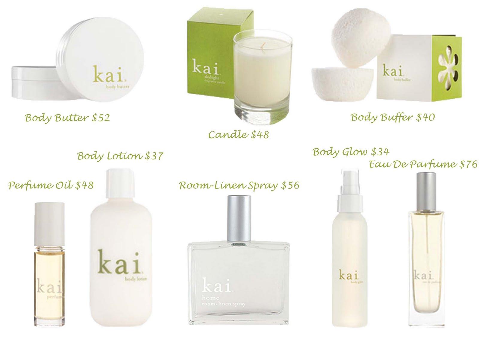 Kai Fragrance Collection