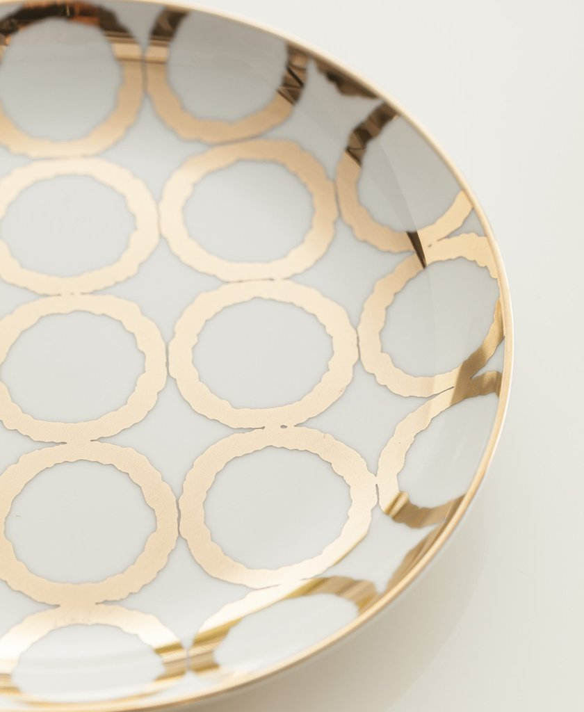 Luxe Modern Appetizer Plates