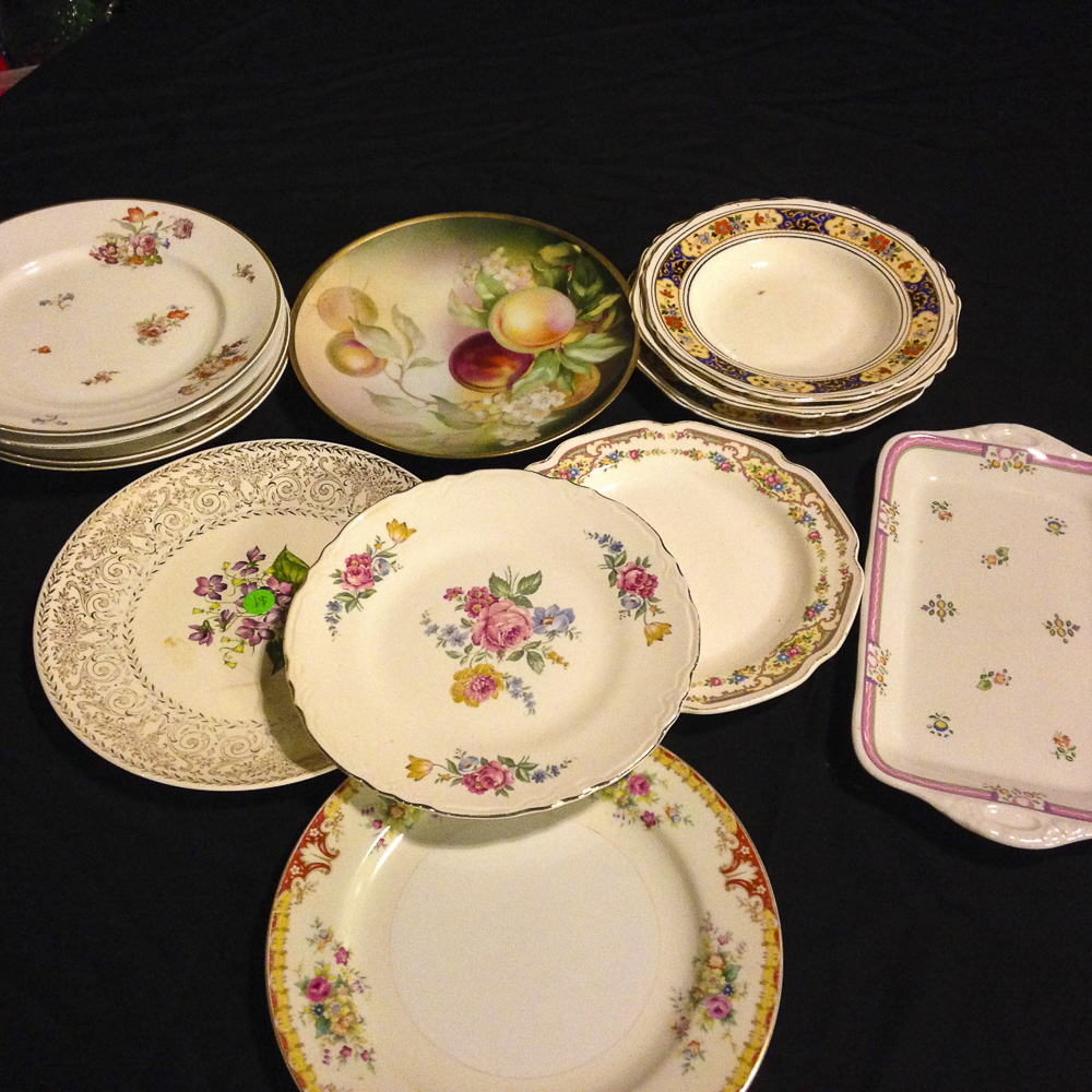 small serving platters