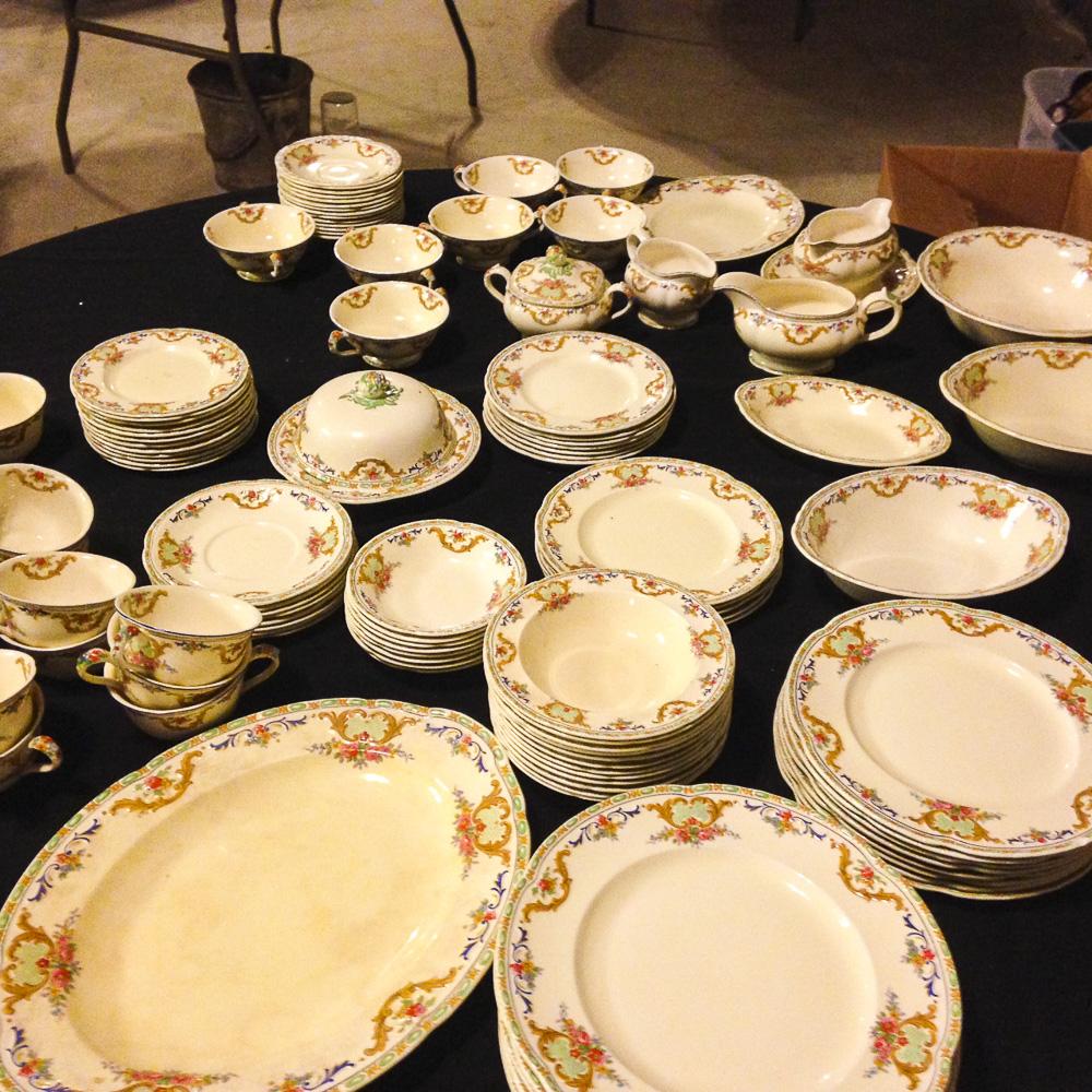English dinnerware
