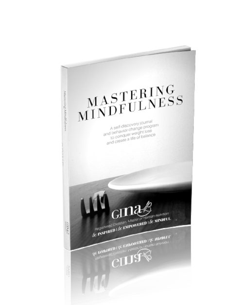 Mastering Mindfulness book cover Gina B
