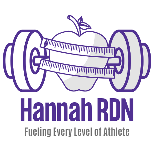 apple, barbell, dumbbell, Hannah RDN, athlete, measure, measuring tape