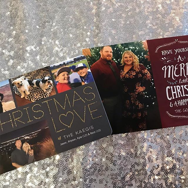 Oh how we love Christmas greetings from past couples!  It's so fun to see what you have been up and watch your families grow. 🎅🏻🎄#aberdeenbride #aberdeenmanor #wedding #holidaycards
