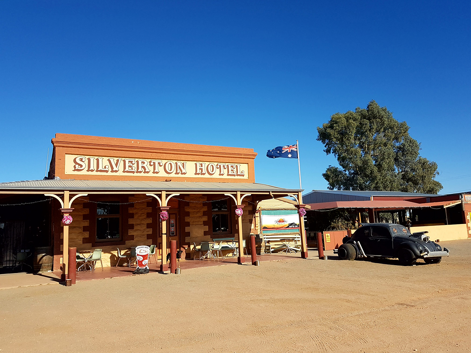 The famous Silverton Hotel where the Silverton Day Out will be hosted