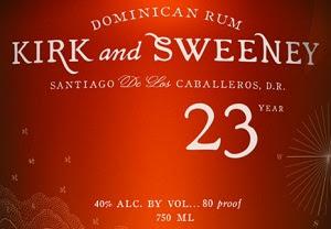 Kirk and Sweeney Dominican Rum